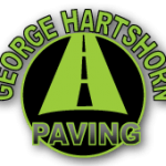 george hartshorn paving logo