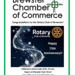 Brewster Rotary Celebrates 75 years!
