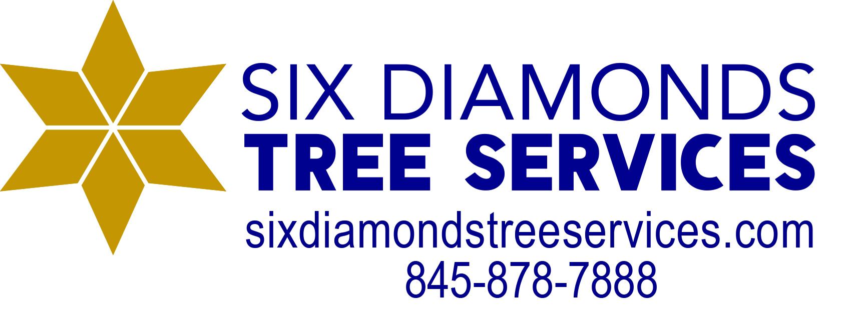 Six Diamonds Logo Contact Info