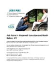 Job Fair at Community Based Services