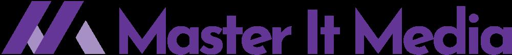 Master IT Media Logo Hor Purple