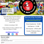 Patterson Rotary Club's Blues & BBQ Festival