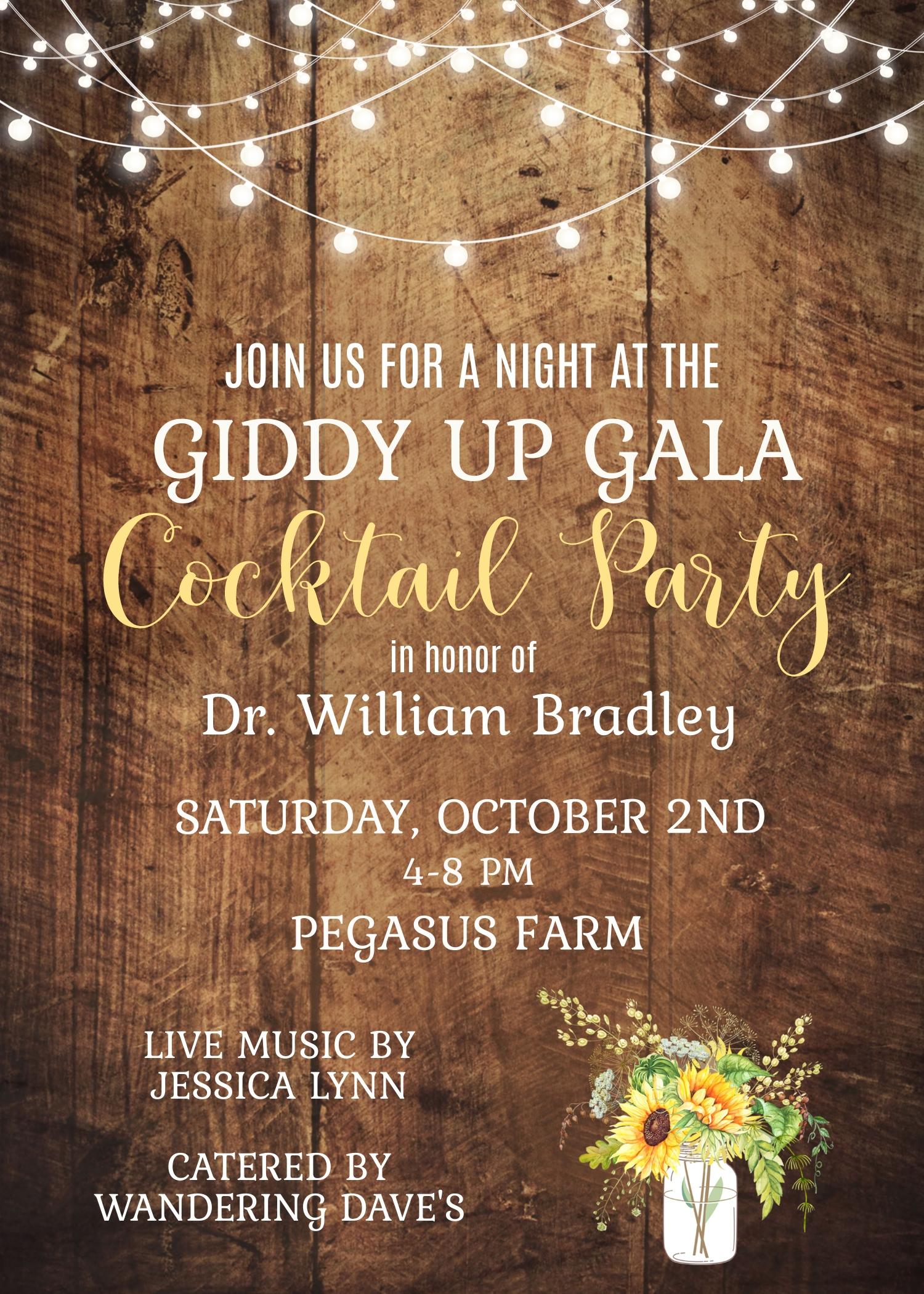 GiddyUpGala Invite