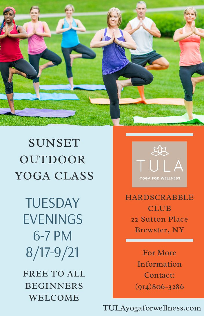 Sunset Outdoor Yoga
