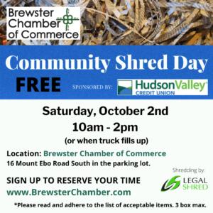 Community Shred Day 1