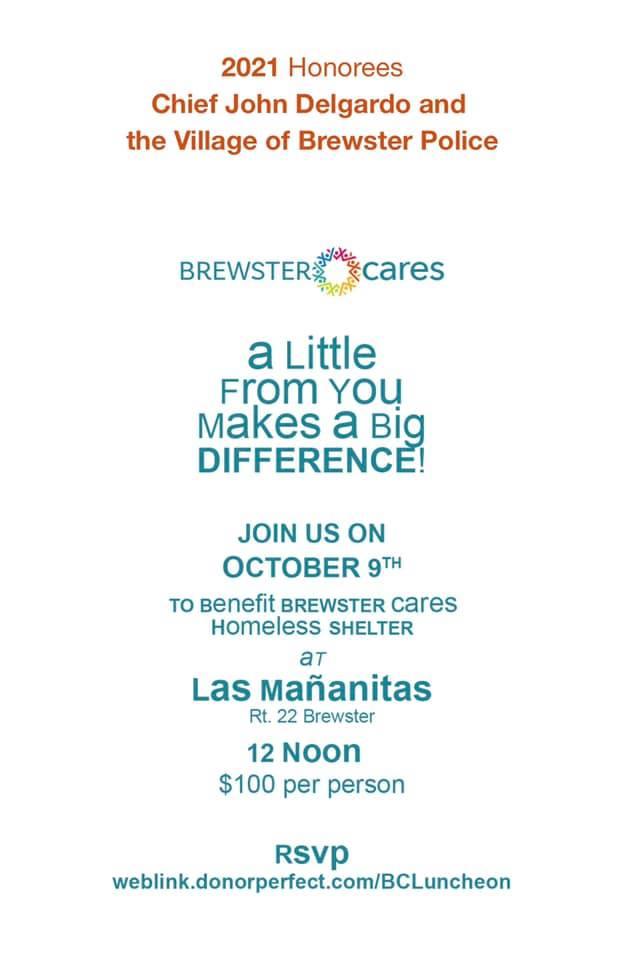 Brewster Cares Chief Del Gardo Fundraiser